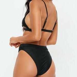 Missguided Swim - NEW Missguided Black Bikini Bottoms